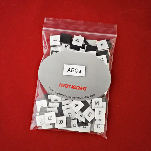ABCs Alphabet Magnetic Poetry