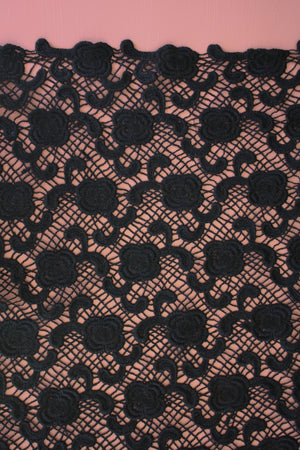 Lace Guipure | Black