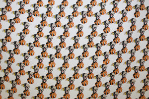 Duchamp - Printed Polyester | Orange