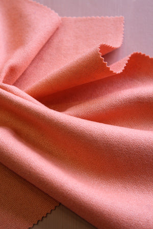Isla - Wool Coating | Salmon