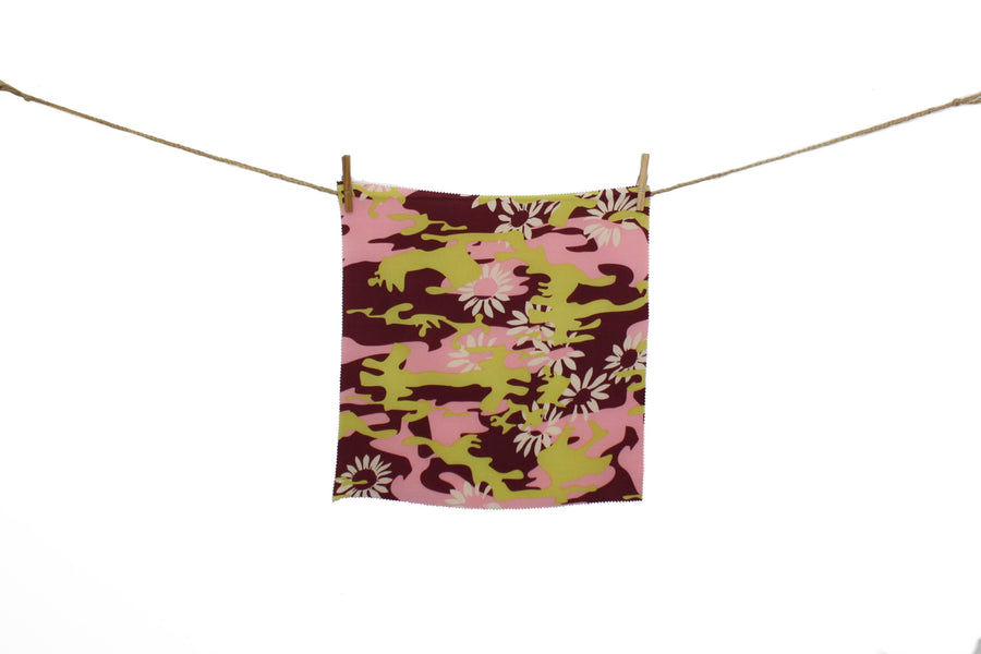 Flower Camo - Printed Polyester