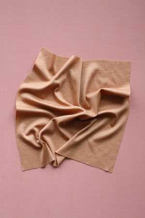 Merino Interlock - Peach #3