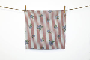 Pansy - Printed Linen Cotton