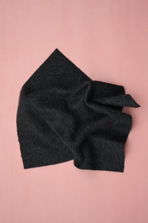 Siberia - Wool Coating | Charcoal