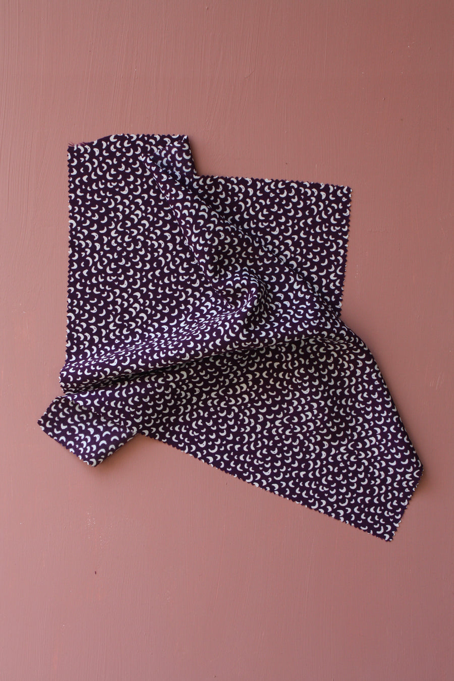 Gilbert - Printed Polyester | Purple