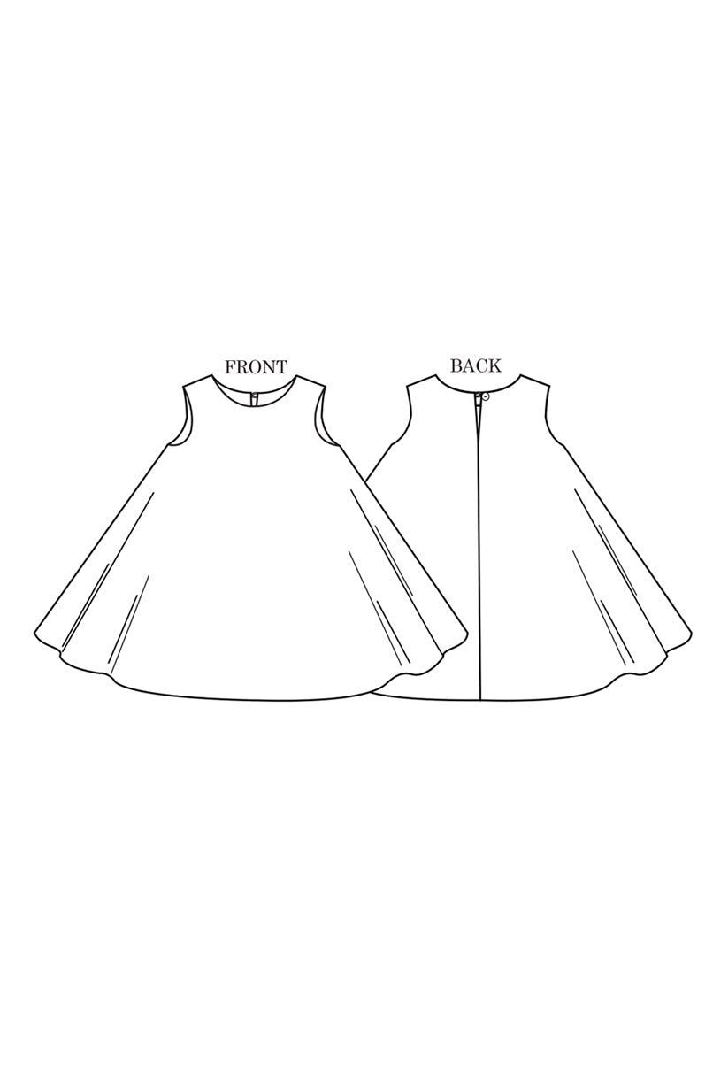 The Trapezette - Dress Pattern