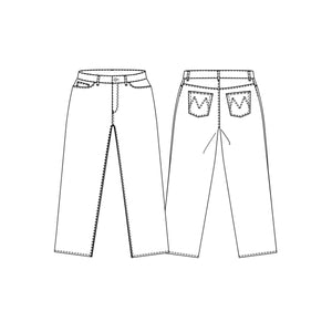 The Heroine - Jeans Pattern