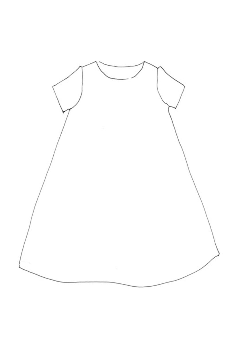 The Trapeze - Dress Pattern