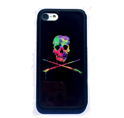 Painted Skull iPhone 7 case