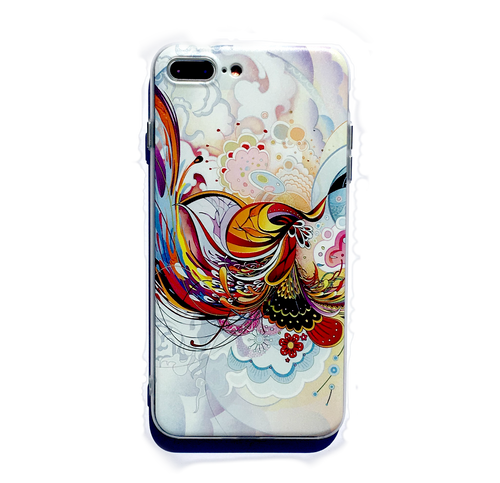 Abstract Phoenix iPhone 7/8 plus case