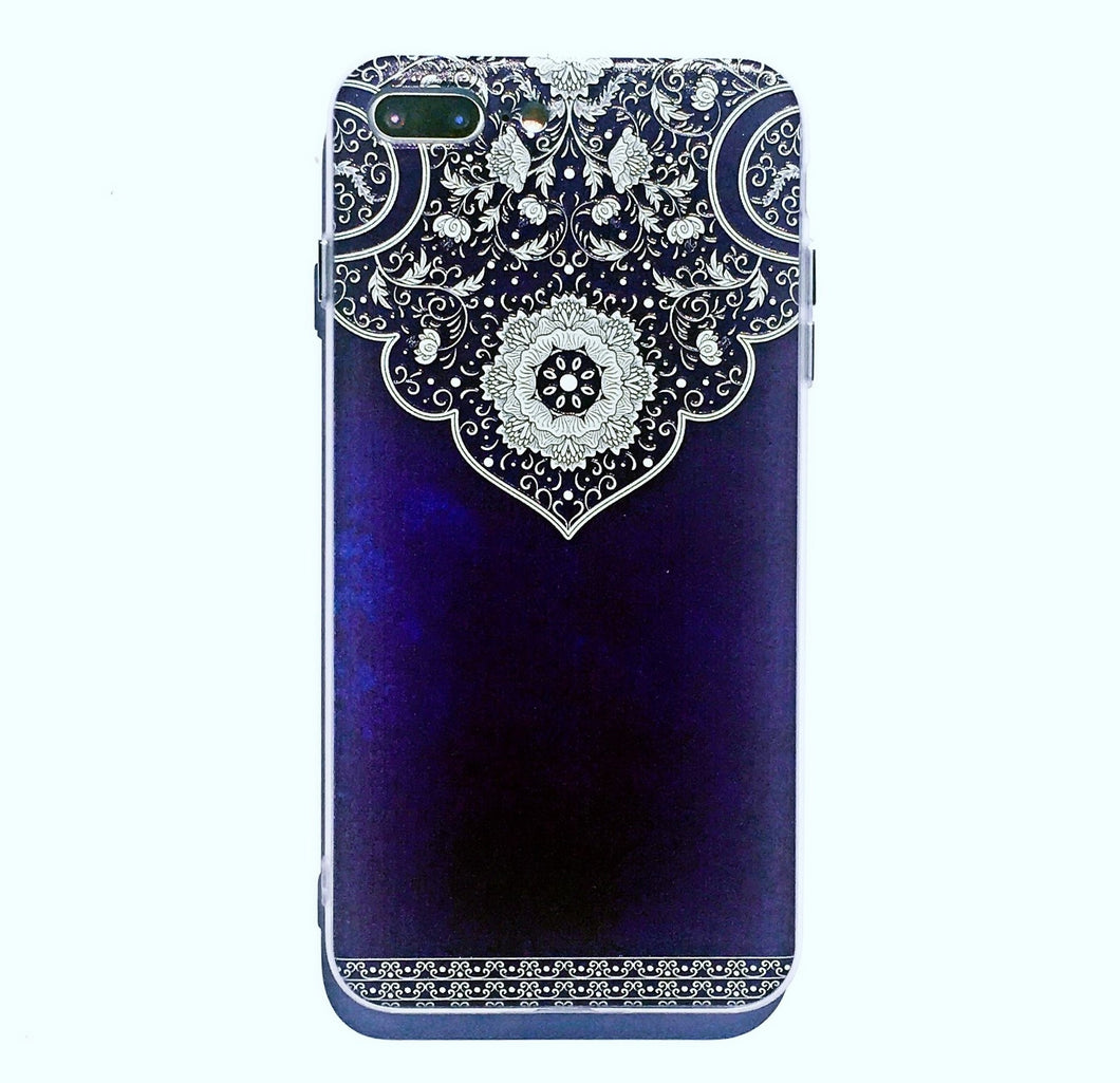 Exotic Floral Pattern iPhone 7 case.