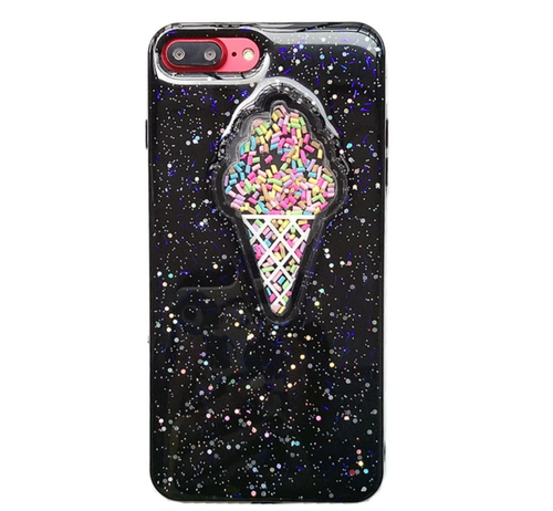 Ice Cream Cone with Sprinkles iPhone 7 case