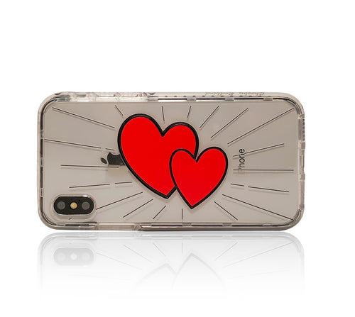 Heart to Heart iPhone X case