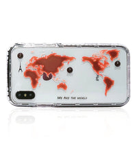 World Map iPhone X case