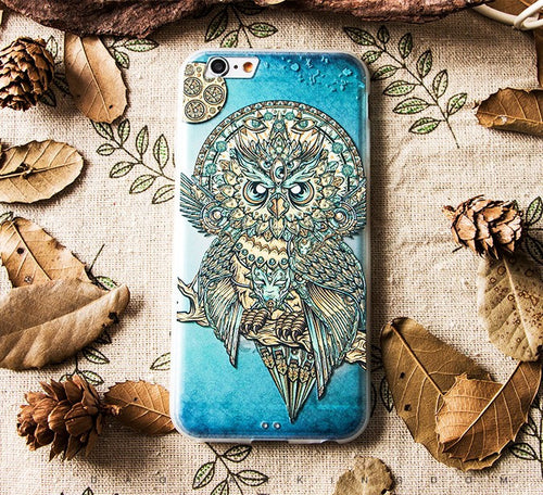 Wise Owl iPhone 7/8 plus case.