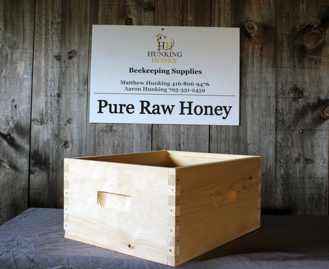 Deep Hive Body Commercial Grade Assembled - Hunking Honey