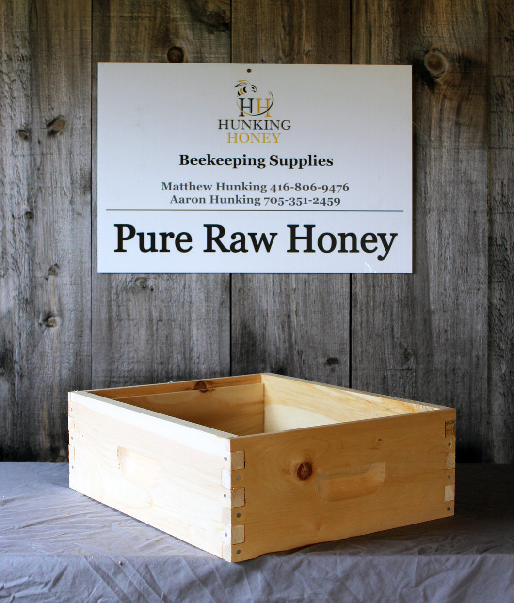 Medium Hive Body Commercial Assembled - Hunking Honey