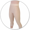 Contour MD Slip On Mid Calf Girdle Closed Crotch - Style 15-Mid Calf Girdle-Contour MD-Beige-XS-PlasticSurgeryShop