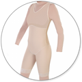 Contour MD Mid Thigh Body Shaper with Side Zippers - Style 27Z-Mid Thigh Body Shaper-Contour MD-Beige-XS-PlasticSurgeryShop
