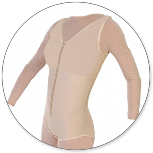 Contour MD Body Shaper Brief Style Closed Crotch - Style 32-Body Shaper Brief Style-Contour MD-Beige-XS-PlasticSurgeryShop