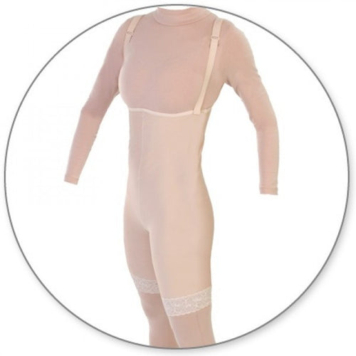 Contour MD Mid Thigh Body Garment Pull On Slit Crotch - Style 34