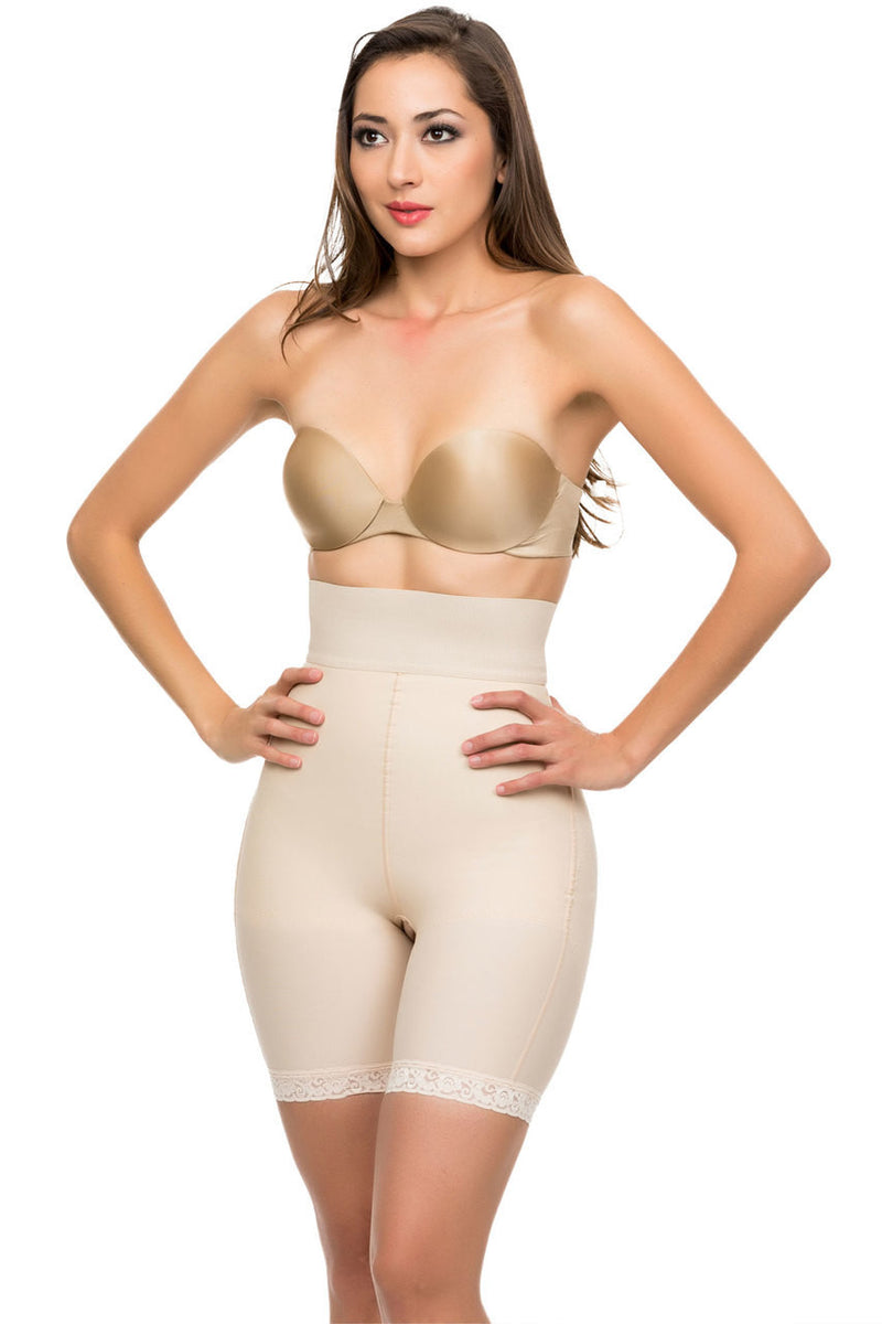 ISAVELA 2nd Stage High Waist Closed Buttocks Enhancing Compression Girdle (BE10)
