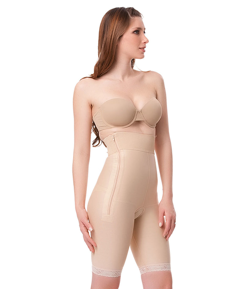 ISAVELA High Waist Abdominal Above Knee Compression Girdle (GR03)