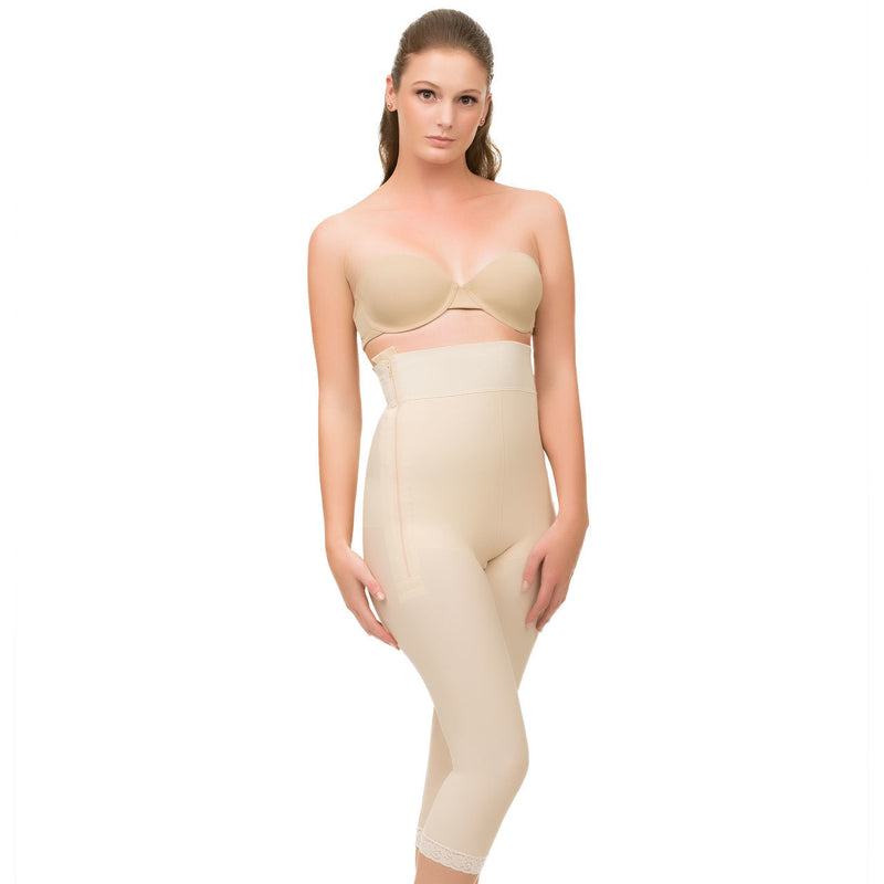 ISAVELA High Waist Abdominal Below Knee Compression Girdle (GR05)