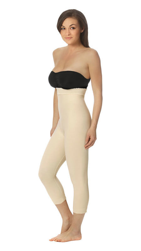 MARENA RECOVERY Style LGM2 | Capri-Length Girdle - Zipperless