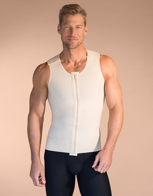 MARENA RECOVERY Style MV | Male Sleeveless Compression Vest