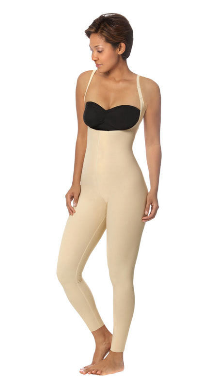 MARENA RECOVERY Style SFBHL2 | Ankle-Length Girdle with High-Back - Zipperless