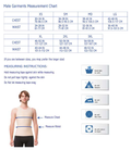 ISAVELA 2nd Stage Male Abdominal Cosmetic Surgery Compression Vest (MG04)
