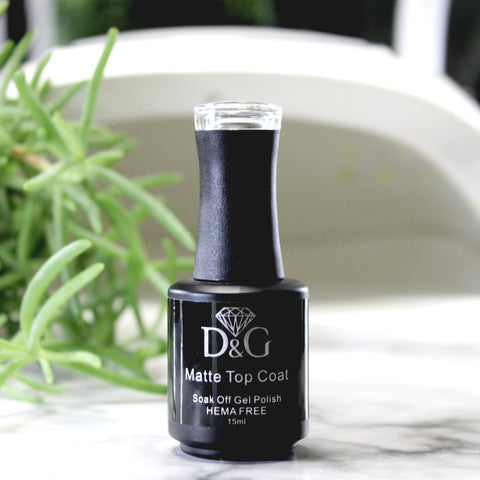 D&G Hema Free Matte Top Coat - Product Use