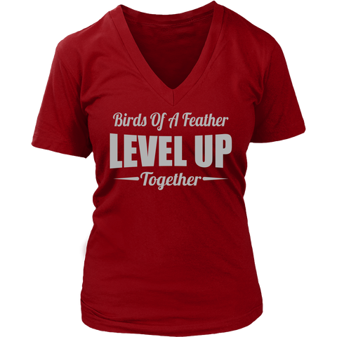 Level Up V-Neck T-Shirt