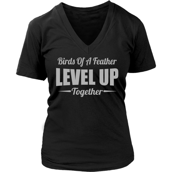 Level Up V-Neck Tee