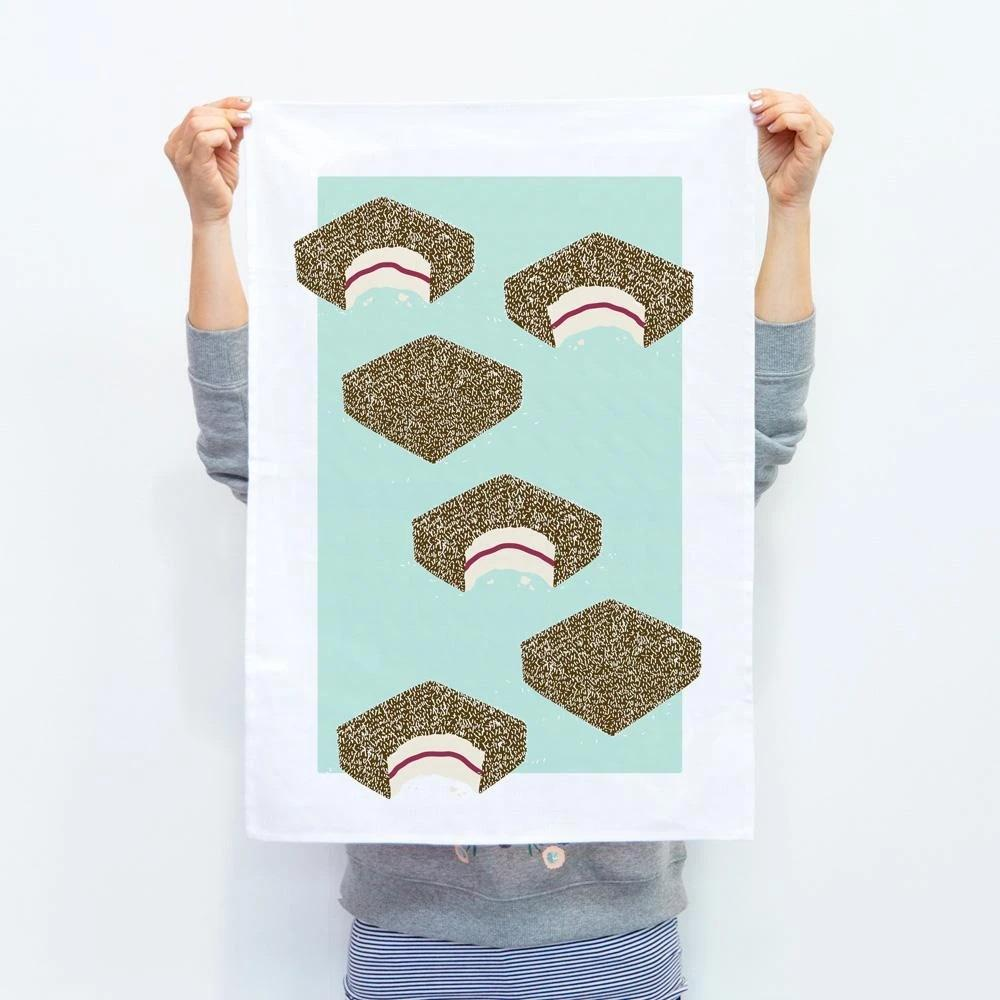 Iconic Lamington Tea Towel