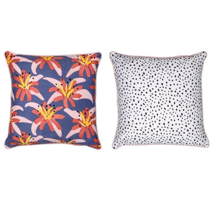 Floral Feels Reversible Cushion