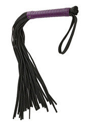 Black Rose Whipping Willow Flogger