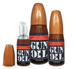 Gun Oil Silicone Lube - 8oz