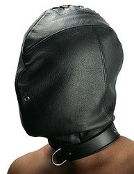 Strict Leather Premium Confinement Hood in Small-Medium
