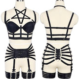 The Siren - Harness Lingerie 2 piece Set Collection