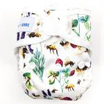 NEWBORN FITTED NAPPY PACKS - HONEY POTS AND WRAPS