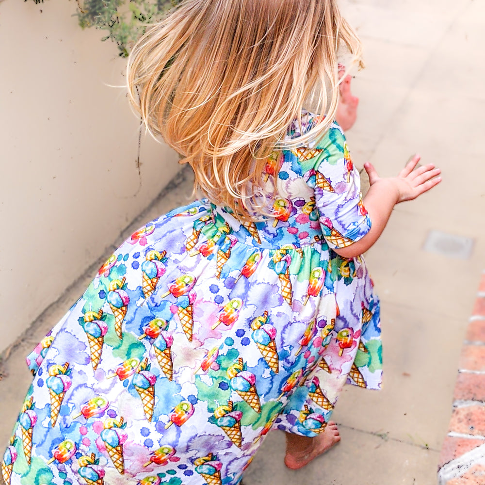 BARE KIDS - Hi-low Dress - WINTER WONDERS CLEARANCE