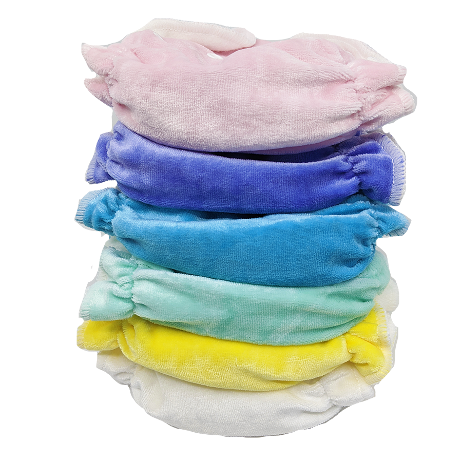 HONEY POT FITTED NAPPIES - NEWBORN