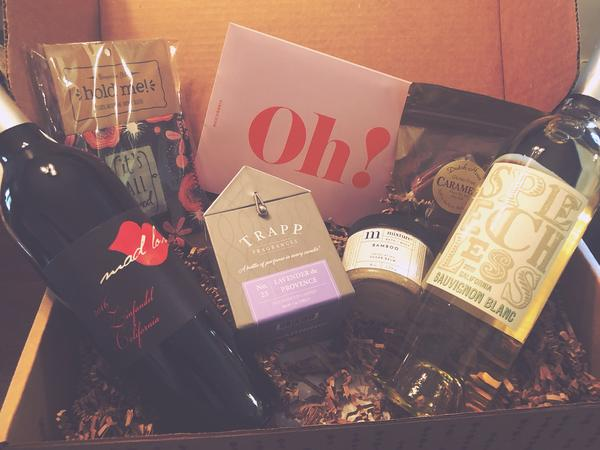 VineOh! Subscription Box (Must be 21!)