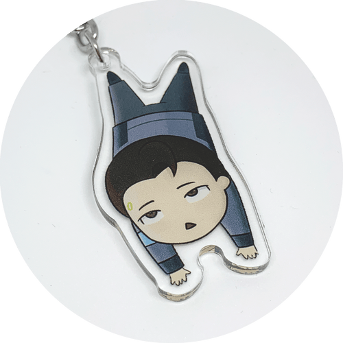 Connor Detroit Become Human Keychain