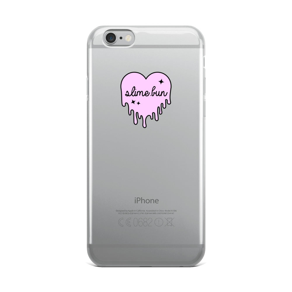 Dripping Slime Heart iPhone Case
