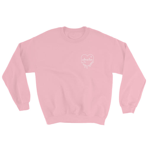 Dripping Slime Heart Sweatshirt