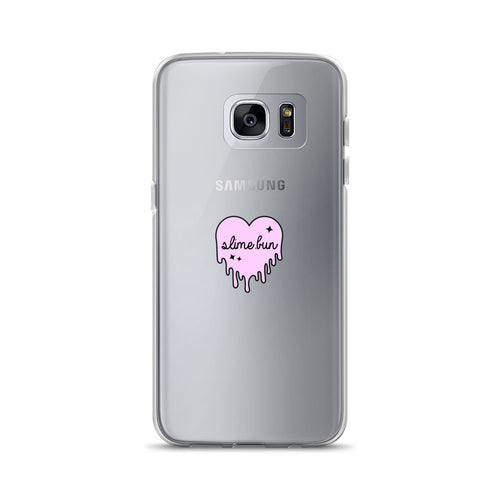 Dripping Slime Heart Samsung Case