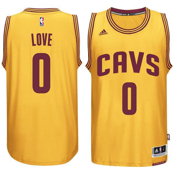 Cavaliers Kevin Love #0 Gold